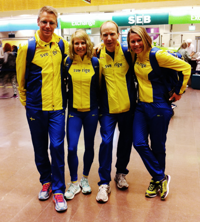 Jonas Buud, Sophia Sundberg, Fritjof Fagerlund och Frida Södermark. Saknas på bilden gör Linus Holmsäter.