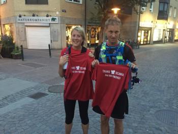 Linda Bengtsson och Fredrik Engdahl, vinnare