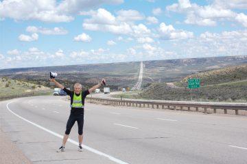 Backarna är enorma i Wyoming. Tack vare en ny löpteknik har jag lärt mig att springa upp för  dem. Näxtan oavsett hur långa eller branta de är. Just den här backen är 11.5 km från topp till topp.